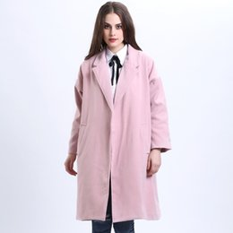 Wholesale Jackets Wool Blends Women Spring Winter Coats Jackets Thick Long Poncho Coats Belt Oversized High Quality Winter Quilt Long Coat