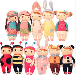 Wholesale Large Plush Bears - 30cm Angela Lovely Stuffed Cloth Metoo Rabbit Doll Christmas Girl Children Gift Kids Pig Plush Rilakkuma Toys S15 Beanie Boos Large Bear