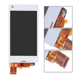 """Wholesale Xperia Screen Replacement - 4.3"""" Black White For Sony Xperia Z3 Mini Compact D5803 D5833 LCD Display Touch Screen with Digitizer Assembly Replacement"""