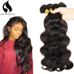 Wholesale Brazilian Hair Supplies - Factory Supplied Body Wave Human Hair Weft 100% Brazilian Human Remy Hair Extension With Full Cuticle