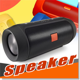 Wholesale mini portable stereo speaker bluetooth - Bluetooth Speakers Subwoofer Speaker Wireless Bluetooth Mini Speaker Charge 2+ Deep Subwoofer Stereo Portable Speakers WITHOUT LOGO