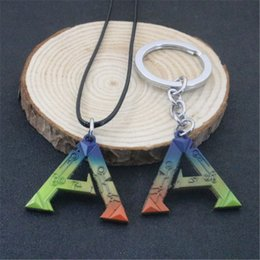 Wholesale Survival Necklace - ARK Survival Evolved Game Alloy Pendant Necklaces & Key Rings Leather Necklaces & Pendants New Jewelry Hot Sale