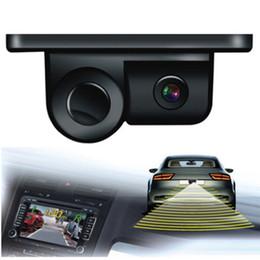 Wholesale Car Parking Rear View Camera - Esky 170 Degree Viewing Angle HD Waterproof Car Rear View Camera with Radar Parking Sensor hot