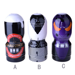 Wholesale Masturbator Machines - Soft silicone artificial vagina real fake pussy male masturbation machine adult sex toys for men masturbator