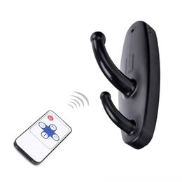 Wholesale Security Remotes - HD 720*480 Spy Clothes Hook Camera Wireless Remote Control Hidden camera Clothes Hook Video Recorder Motion Activated Security DVR