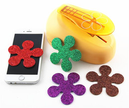 Wholesale Craft Flower Punches - Wholesale- free ship 76mm flower puncher scrapbooking punches craft punch perfurador paper cutter furadores de papel para scrapbook R348