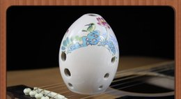 Wholesale Mini Pottery - Chinese Ancient Xun Flute Pottery Musical Instruments China Ethnic Music Vertical Wind Xun B porcelain pear mini