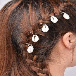 Wholesale Cross Clip Hair - New Fashion 2017 Silver Gold Color Cross Shell Star Circle Leaf Palm Design Hair Clips Hairpins Hair Accessories For Women XR