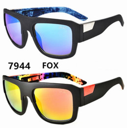 cheap color sunglasses Promo Codes - 2017 New Sports Men Sunglasses FOX DECORUM Outdoors Goggles Big Frame 12 Colors Cheap Wholesale Sunglasses Free Shipment