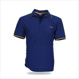 Wholesale Rapid Green - Mens pure short sleeved polo shirt Summer outdoor fast dry quickly spread sweat and rapid evaporation ouc342