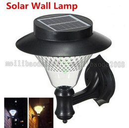 Wholesale 16led Solar Lights - Outdoor Garden  Yard  Pathway Solar Wall Lamp Popular Solar lamps 3 x 1200mAh Ni-MH Battery Solar Lamps Decoration 16LED Light MYY