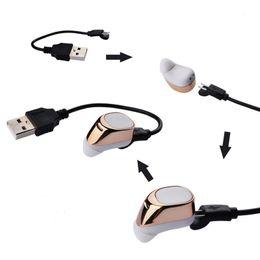 il mic del bluetooth migliore Sconti S630 Bluetooth 4.1 mini Auricolari S630 Auricolari stereo auricolari stereo senza fili con cuffia con microfono per iPhone 8 samsung s8 note best