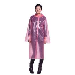 One-time Thickening Raincoat Thick Disposable PE Raincoats Poncho Rainwear  with Button Rain Coat Rain Wear Travel Rain Coat One time Adult 9c43bcb549aa
