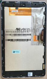 Pour Google Nexus 7 1ère Asus ME370T ME370 tablette CLAA070WP03 XG LCD écran tactile LED Digitizer Assemblée avec cadre argenté ? partir de fabricateur