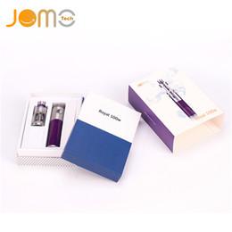 Wholesale Royal Plastics - Original Jomo Royal 100W Starter Kit 3000mah 3ml Carbon Fiber Jomotech 100 vaporizer pen e cigs vape kits