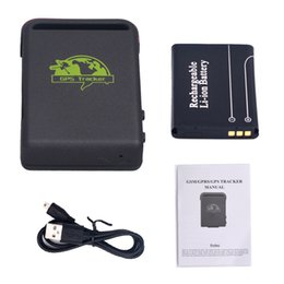 Wholesale hand held gps device - Mini Car Person Pet Waterproof Magnet GPS GSM GPRS Tracker Vehicle Real time TK102B GPS tracking Device