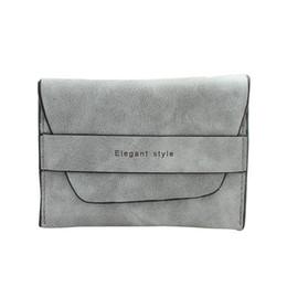 Wholesale Purses Discount - Wholesale- Vintage Discount Women Bifold Wallet Coin Purses Card Bags Clutch Purse Short Handbag monederos para monedas Wallets & Holders
