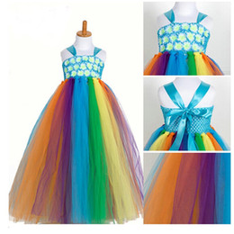 Wholesale Costumes For Pageants - Baby Pageant Dress Christmas Girls Party Dresses sleeveless Boutique Chiffon Shirt For Kid Costumes Clothes Prom