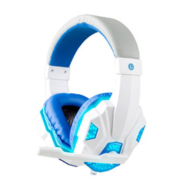 Wholesale Over Ear Headphones Hd - eadphones noise cancelling Bass HD Gaming Headset Mic Stereo Sound Gamer Over-ear Headband Headphone Noise Cancelling with Microphone for...