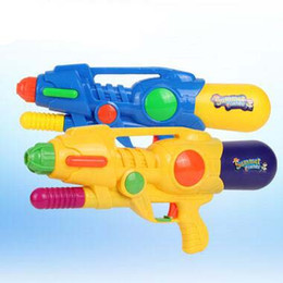 Wholesale Toy Shoot Air - Summer Water Fun 40cm Large Size Water Gun Air Pressure Water Shoot Gun Large Capacity Far Reach Children's Bath Toys Beach Toys