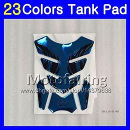 Wholesale 1989 Honda Cbr - 23Colors 3D Carbon Fiber Gas Tank Pad Protector For HONDA CBR400RR 87 88 89 NC23 CBR400 RR CBR 400RR 400 1987 1988 1989 3D Tank Cap Sticker
