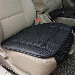 Wholesale Car Seat Summer - Universal Car Seat Cover cushion four Seasons charcoal General Monolithic Summer Slip Mat Car Seat Mat Cushion Cover
