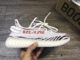 Wholesale Dmx 36 - 2017 v2 Sply 350 CP9652 core black red white zebra v2 boost 350 Kanye west Boost Running Men Women Sneaker Shoes Size 36-48