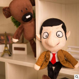 Wholesale Mr Bean Toys - Mr Bean and Teddy Bear Plush Toys Soft Dolls Stuffed Animals Toys for Kids Poo Devil Children Xmas Gifts Kids Stuffed Toys
