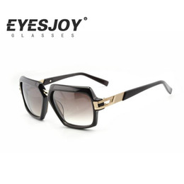 Wholesale Titanium Eyeglasses For Women - Brand Designer Fashon Show Women Sunglasses Brands for Men Metal Eyeglasses Square Frames Stylish Beach Outdoor Sunglasses 6004