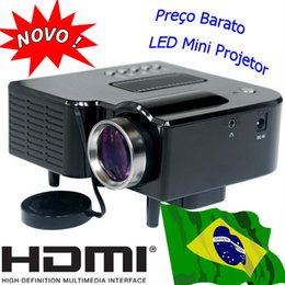 Wholesale cheap handheld - Wholesale- HDMI Mini Projector LED Lamp Portable Cheap Projetor USB SD Videoprojecteur Handheld Beamer PC Laptop Phone Home Used Proiettore