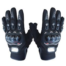 gants pro biker racing Promotion Vente en gros- Pro-motard Full Finger Moto Equitation Racing Cyclisme VTT Sport Gants XL