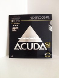 Wholesale Donic Rubber - Hot- 2PCS 1 LOT- Donic ACUDA_S1_Turbo table tennis rubber S1 pingpang rubber