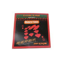 Canada 2 sets / lot Presto printo Carte Rapide Carte D'impression Super close close tour de magie rue Prop Card Magic Poker Livraison gratuite 81047 Offre
