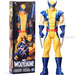Wholesale Wolverine Hero Doll - Marvel Super Hero Avengers Action Figure Toy Wolverine,Model Doll Kids Gift 12