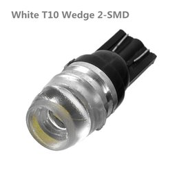 Wholesale Read Diamond - 10pcs 12V T10 Wedge W5W 192 168 194 2825 White Diamond Light Wide Light High Power Car Lights CLT_800