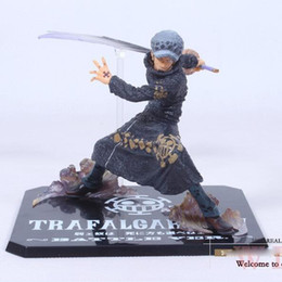 """Wholesale Law Trafalgar Years - Cool 5"""" One Piece The Surgeon of Death Trafalgar Law After 2 Years Battle Ver. PVC Action Figure Model Toy"""