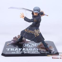 "Wholesale One Piece Trafalgar Law Figure - Cool 5"" One Piece The Surgeon of Death Trafalgar Law After 2 Years Battle Ver. PVC Action Figure Model Toy"