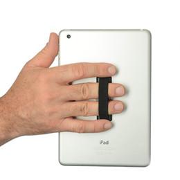 Wholesale E Tablets - Wholesale-2 Pcs Finger Mate Sling Strap Holder Cradle Mount Mobile Smartphone Tablet e-ReaderCell Phone Accessories Grip Sling