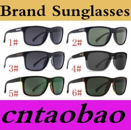 Wholesale Elmore Sunglasses - V-OZ Sunglasses men oculos de sol Mirror lens uv400 elmore von gafas Coating Frame Eyewear frames Freeship MOQ=10pcs