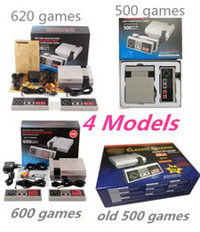 Wholesale Free Video Arcade - 2017 New Free DHL Classic Console Mini TV Handheld Game Console Video arcade games for video game player with 500 600 620 Built-in Games