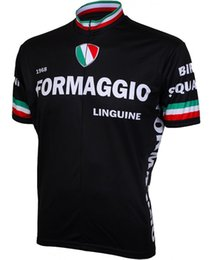 Wholesale Italia Cycle Jersey - 2017 summer men Formaggio Italia bicycle exercise cycling clothing thin wicking cycling mtb jersey fietskleding heren wielrennen 2XS-6XL