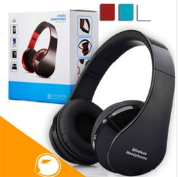 Wholesale Headphones Wireless For Dj - nx-8252 Foldable DJ Bluetooth Wireless Headphone Hi-fi Stereo Earphone Noise Cancelling Headset With Mic For Smart Phones With Retail Box