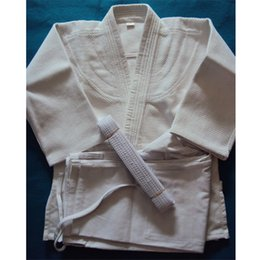 Argentina Brasil Kimono Judo Jiu Jitsu Gi Bjj Grueso wushu Uniforme Conjunto Ropa Ropa Slub Fabrics Niño adulto con cinturón 100% algodón al por mayor cheap kimono xl Suministro