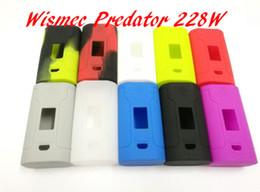 räuber fall Rabatt Silikon-Kasten-Taschen-Abdeckung für Predator 228W Kasten-Mod 18650 Batterie TC Kasten-Mod dienen als Energie-Bank
