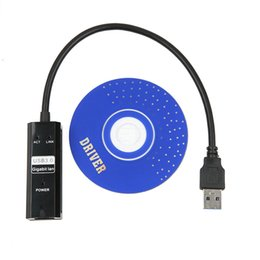 Wholesale Tablet Ethernet Adapter Android - Wholesale- Newest USB 3.0 to RJ45 gigabit Lan Network Ethernet Adapter Card For Android Tablet pc Laptop Smart TV at 10 100 1000Mbps