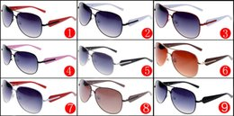 d6f24802ea Metal Frame Sunglasses for Men and Women Outdoor Sport Driving Sun Glasses  Brand Designer Sunglasses A+++ quality Factory Price 9 colors