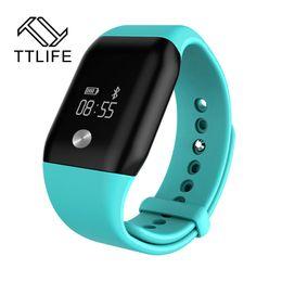 Wholesale Capacitive Key - Wholesale- 2016 A88+ Brand feminino Womensmens Smartband Smart Bracelet Life Waterproof Capacitive Touch Key Top Brand Luxury On Wrist