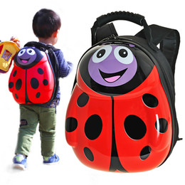 Wholesale Backpacks For Toddler Girls - GIFT Children school bags 3D eggshell cartoon animal kids character backpacks PVC Hard toddler backpack for kids boy and girls