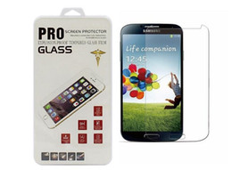 Wholesale S4 Front Screen - Tempered Glass Screen Protectors For samsung galaxy s5,s6,s7,s3,s4,note 4,note 5,s7 edge s6 edge plus with Plastic Retail box