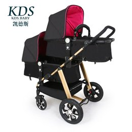 Wholesale Lightweight Prams Strollers - Portable Twins Baby Stroller,Baby Prams Pushchairs Carriage Travel System,Folding Stroller Lightweight with 12 free gifts